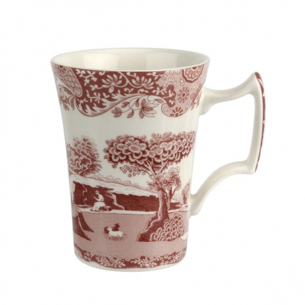 Cranberry Italian Mug 28cl