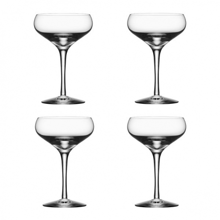 More Champagne Coupe 21cl, 4-pack