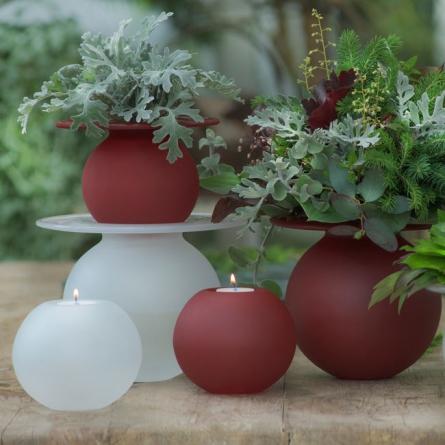 Boblen Frosty Love vase red