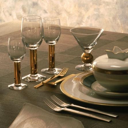 Nobel Martini/Champagneglas 23 cl, Gold