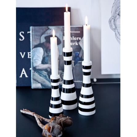 Omaggio Ljusstake, svart