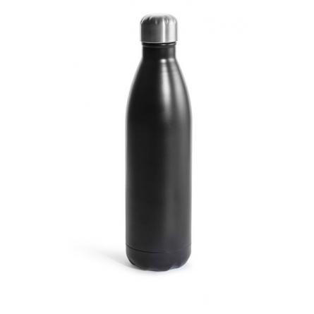 Steel bottle large Black 75cl