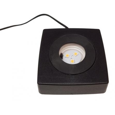 Ljussockel SP90 Black LED