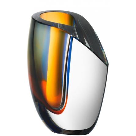 Mirage Vas Amber, H 15,5cm