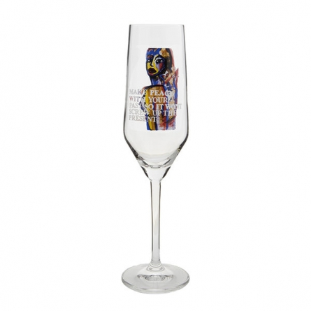 Make Peace, Champagneglas 30cl
