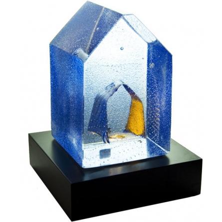 House blue Love