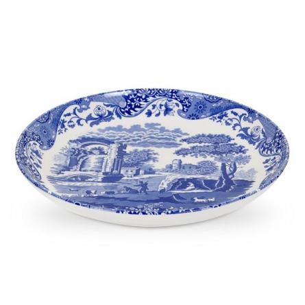 Blue Italian, Pastaskål, 30cm