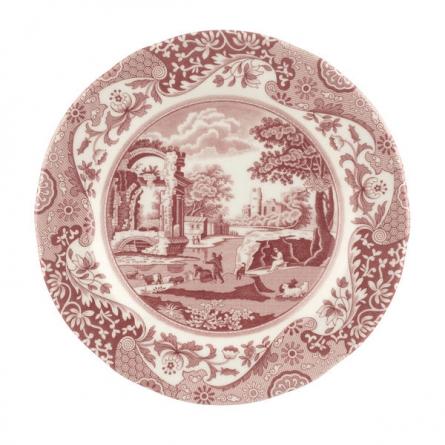 Cranberry Italian plate 20cm