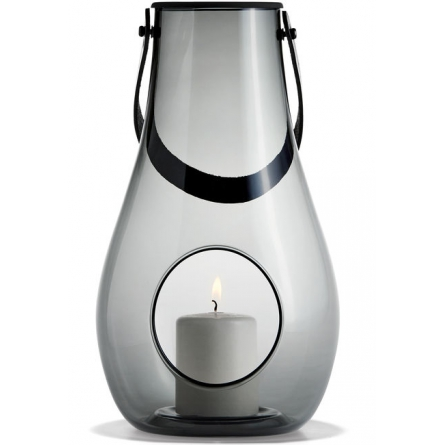 Design With Light Lantern 29 cm, Smoke