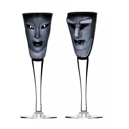 Kubik/Electra Snaps glass 2-pack