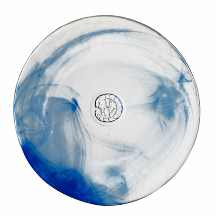 Mine blå liten Plate, Ø 20cm