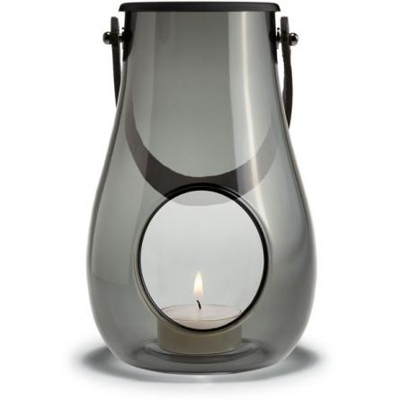 Design With Light Lantern 16 cm, Smoke