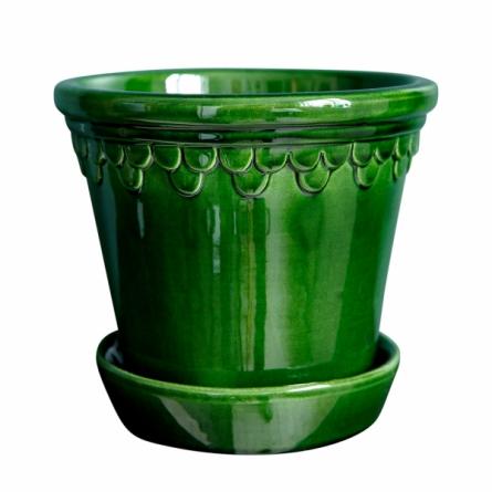 Köpenhamn Kruka grön ø 18 cm