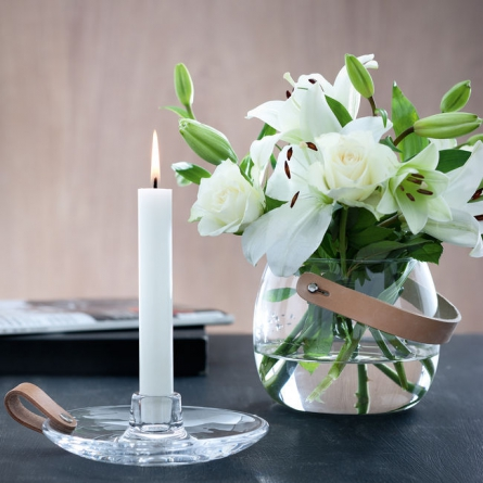 Design With Light Candleholder, Clear