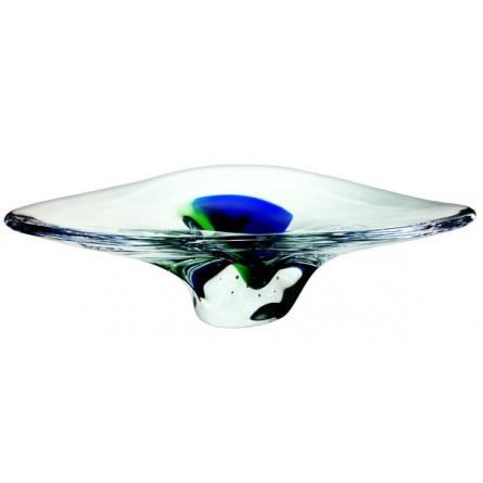 Caribbea bowl blue Green