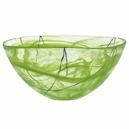 Contrast bowl Lime, Ø 35cm