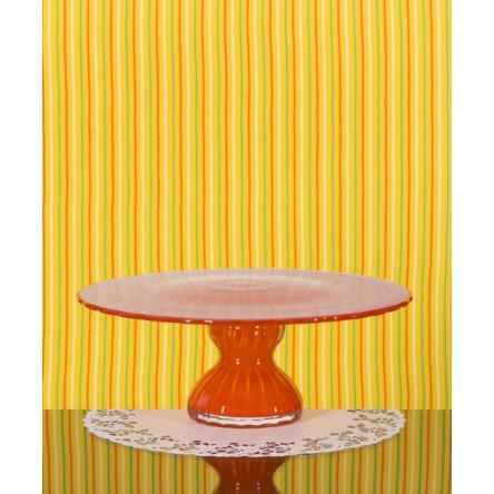 Cake Plate orange 26cm