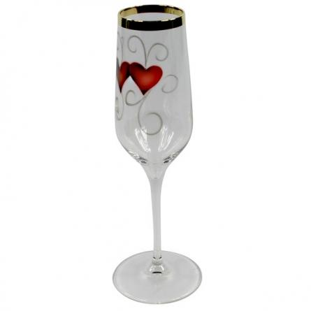 Golden Ink heart Parglas Golden Champagne 2-pack