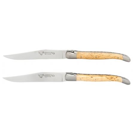 Knivset 2 delar Björk, rostfri matt