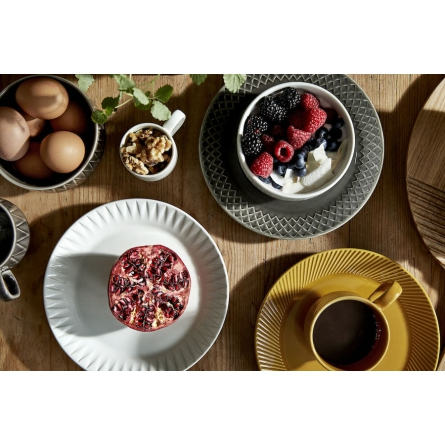 Coffee & More Assiett, Vit