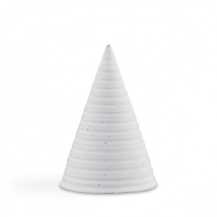 Glasyrtopp Pale grå 15cm