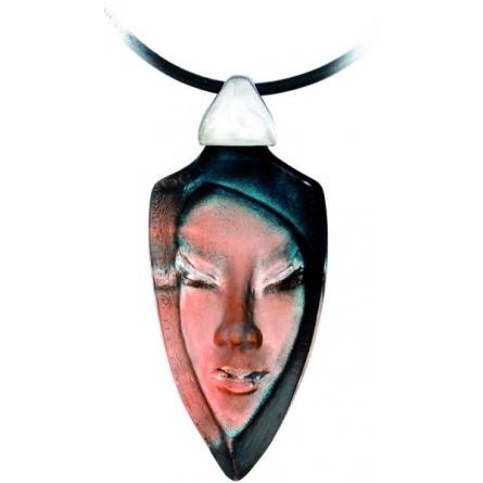 Batzeba blå grå halsband