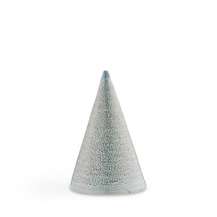 Glasyrtopp Speckled blå 11cm
