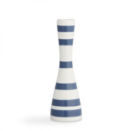 Omaggio candlestick 20cm, blue