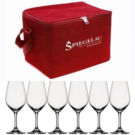Expert wine glass & bag 26cl, 6-pack