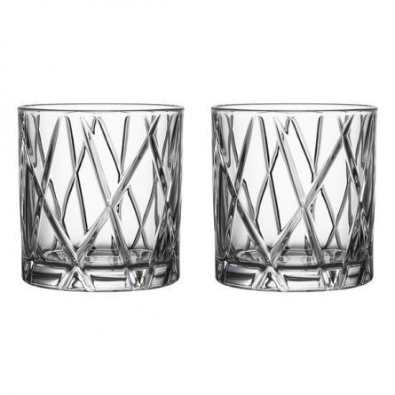 City Double Old Fashion 34cl, 2-pack