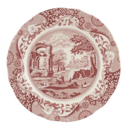 Cranberry Italian plate 27cm