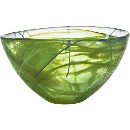 Contrast bowl Lime Medium, Ø 23cm