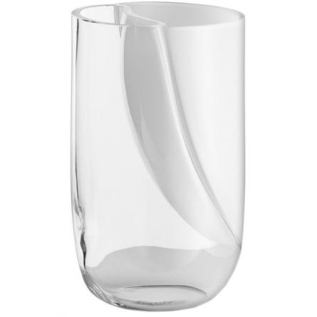 Duo Klarglas/Vit, H 27cm
