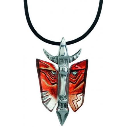 Mefisto röd halsband