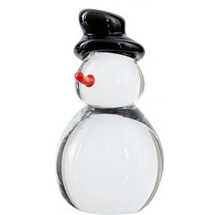 Snowman Clear, H 10cm