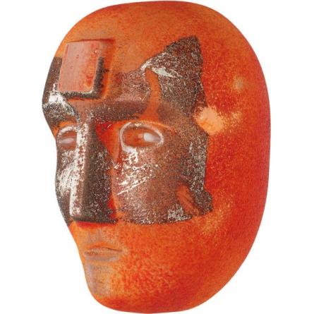 Big Brains Look In orange