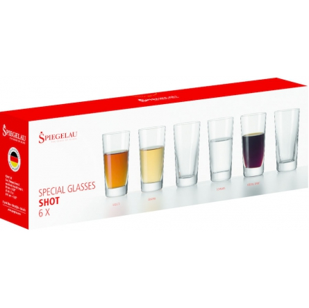 Spirit Shot glas 6-pack