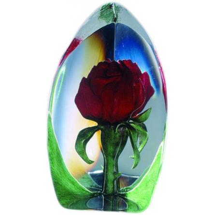 Rose röd stor