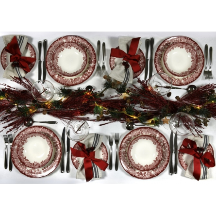 Cranberry Italian Mug 20cl