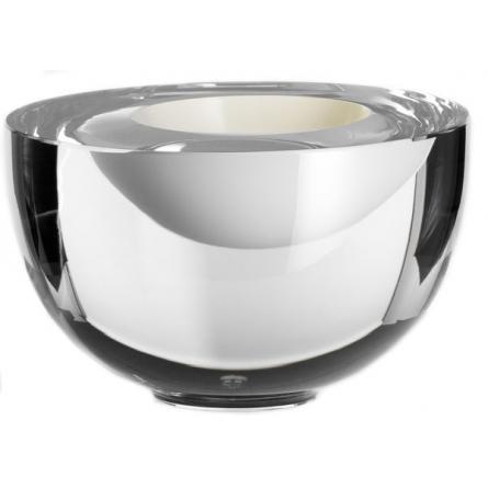 Solid Klarglas/Vit