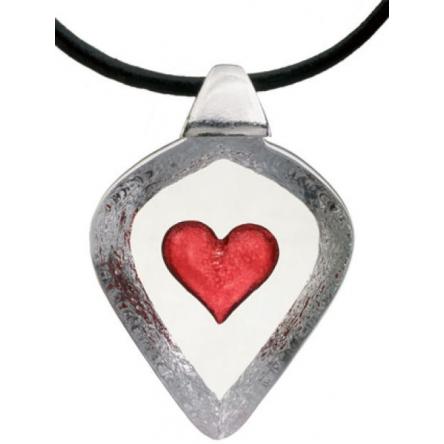 Hjärta halsband liten