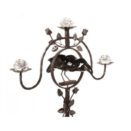 The raven candelabra