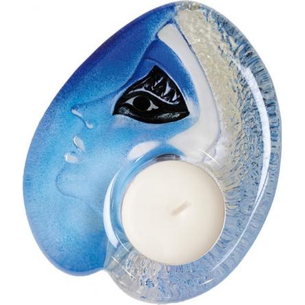 Athena votive blue