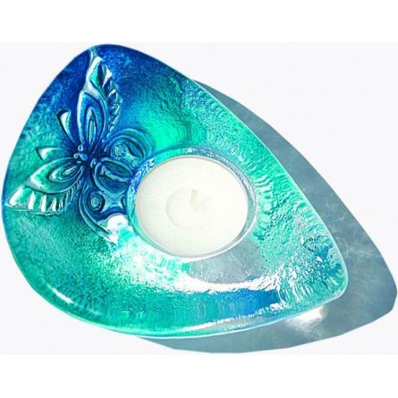Papillon votive blue