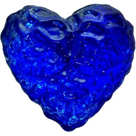 Heart blue