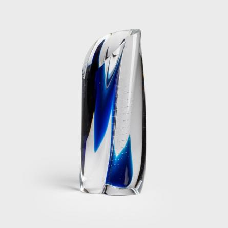 Sculpture blue Drop 30cm