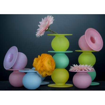 Boblen heart Candy vase Lime Mini