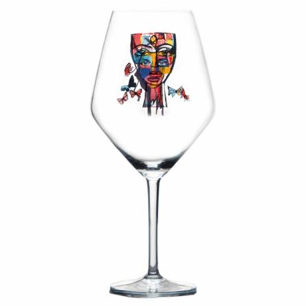 Butterfly Messenger Wine glass 75cl