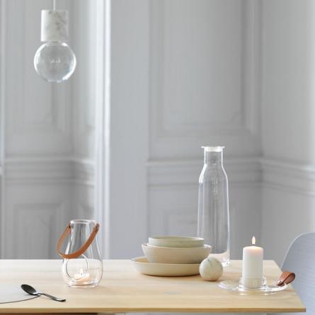 Design With Light Lykta 45 cm, Klar