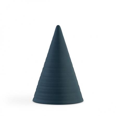 Glasyrtopp Teal blå 15cm